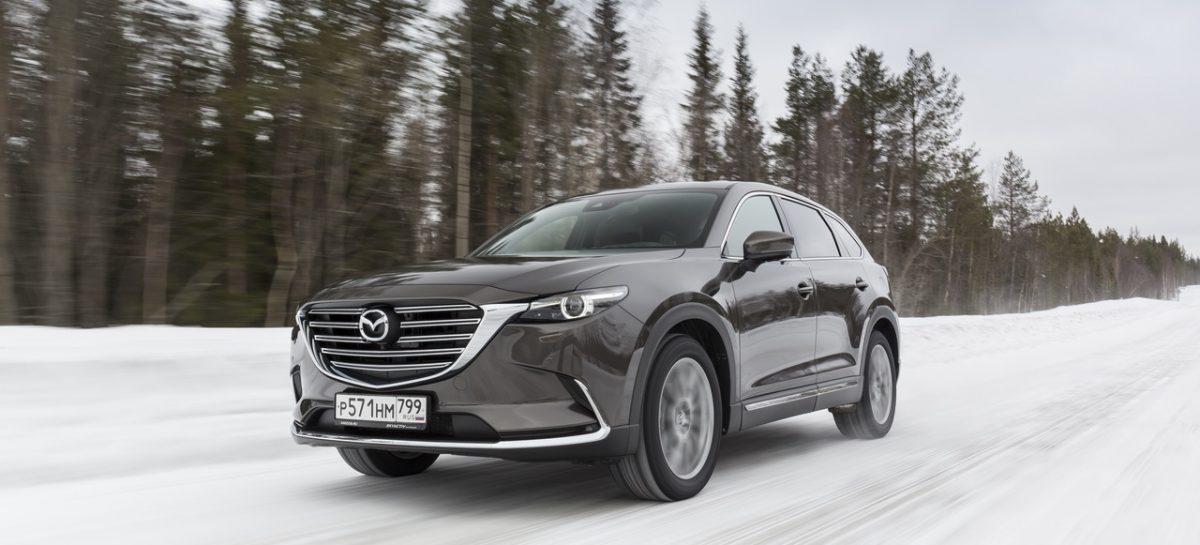 Продажи обновленного семиместного кроссовера Mazda CX-9 стартуют в марте 2019 г
