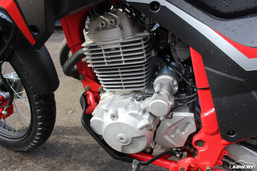 397 кубовый мотор Goose