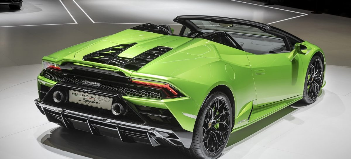 Компания Automobili Lamborghini представила две новые модели: Huracán EVO Spyder и Aventador SVJ Roadster