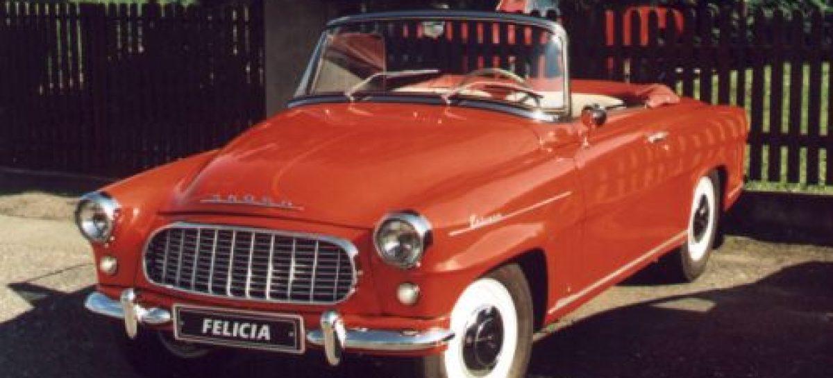 Кабриолет Skoda Felicia отмечает свой 60-летний юбилей
