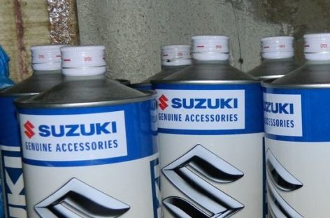 Suzuki заменит моторное масло с фильтром по специальной цене