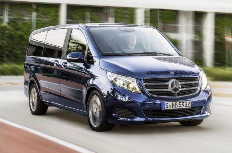 Vito Life – новый вместительный минивэн от Mercedes-Benz
