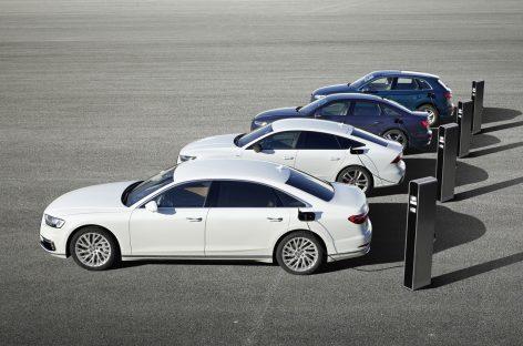 Audi представит гибридные версии моделей Audi A8, Audi A7 Sportback, Audi A6 и Audi Q5