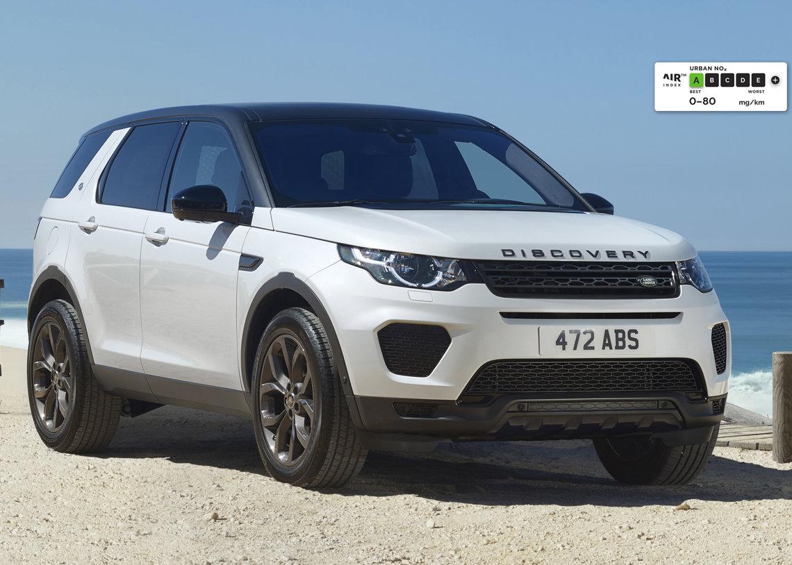 У Jaguar и Land Rover самые низкие показатели выбросов NOz