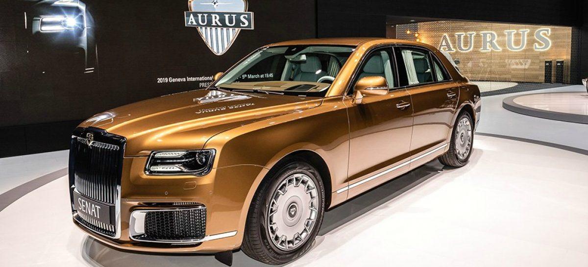 Автомобиль Aurus не по карману тульскому губернатору