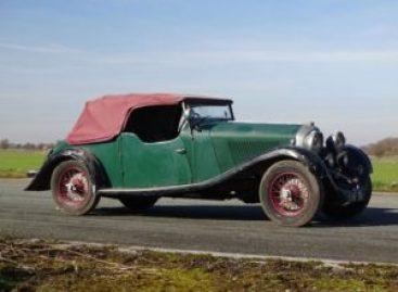 """Редкий Bentley 4 ½-Litre vanden Plas Tourer ушел с """"молотка"""" за 40 млн. рублей"""