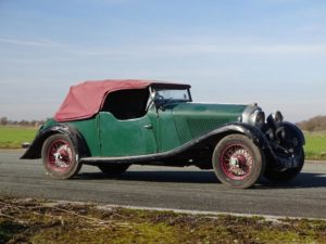 Bentley 4 ½-Litre vanden Plas Tourer