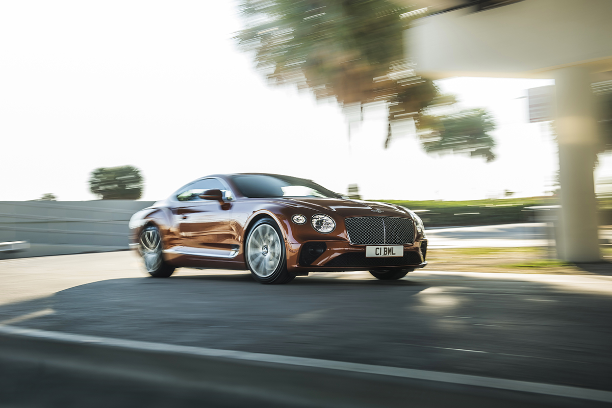 Bentley Continental GT V8 photo