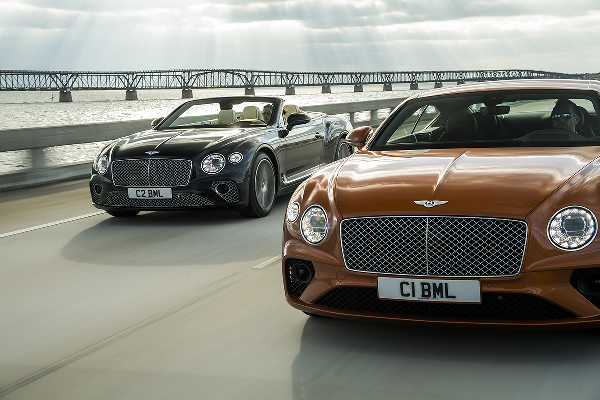 Bentley Continentl GT & GT Convertible V8