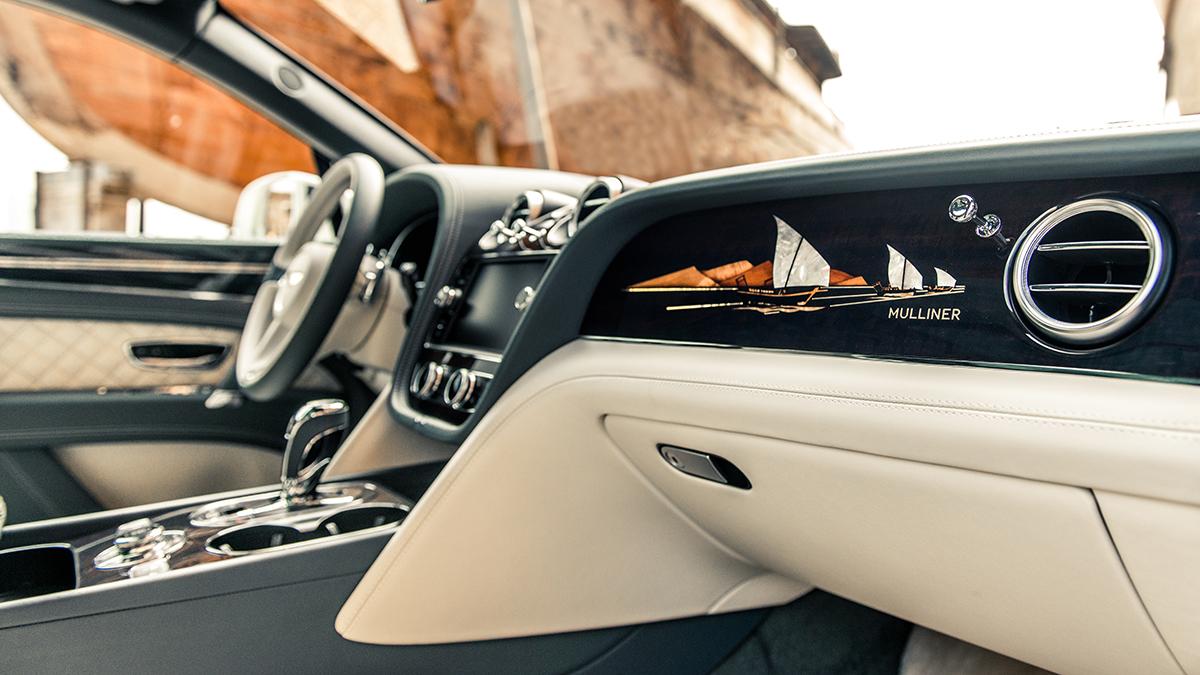 Bentley 'Pearl of the Gulf' панель фото