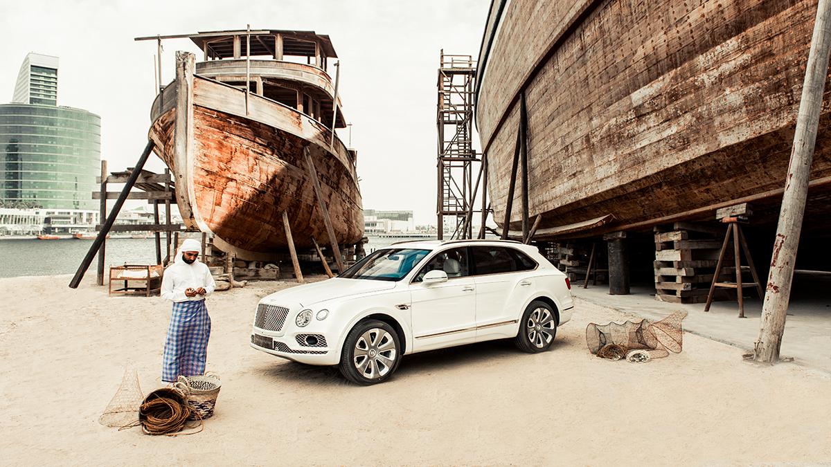 Bentley 'Pearl of the Gulf' фронт фото