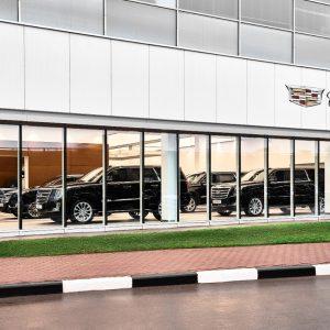 Cadillac и Chevrolet представили новый дилерский центр в Москве