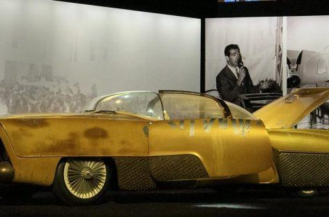 Goodyear и Klairmont Kollections показали в Женеве воссозданный концепт Golden Sahara II