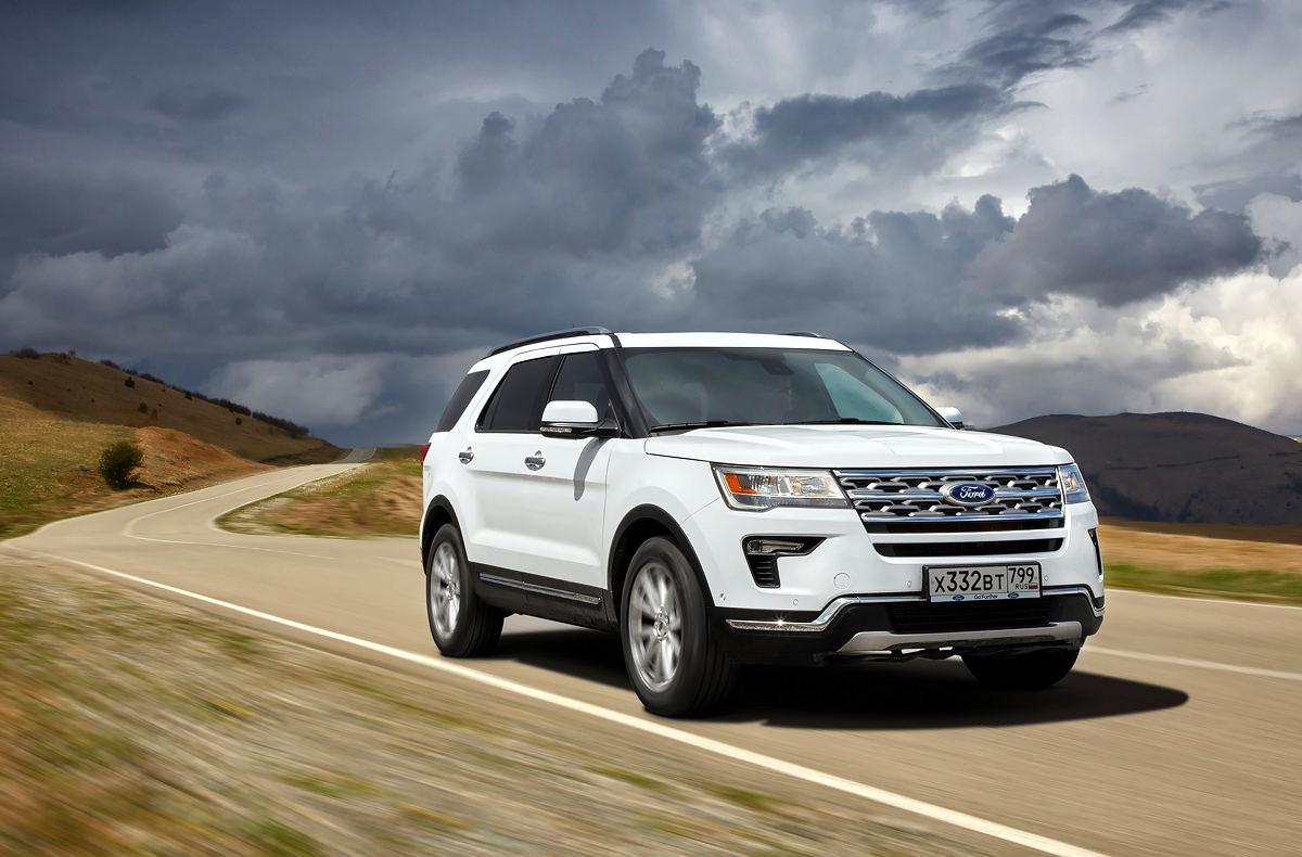 Ford белого цвета стал выбором большинства