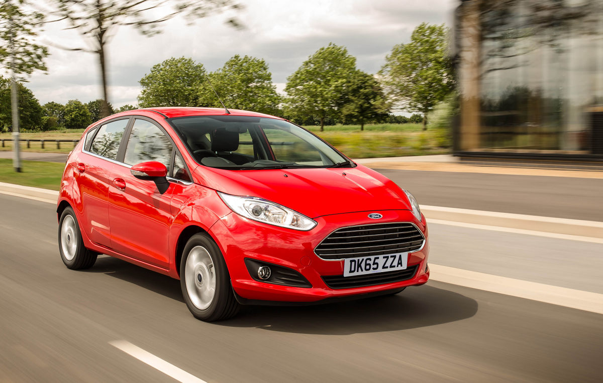 Красный Ford набирает популярность среди покупателей