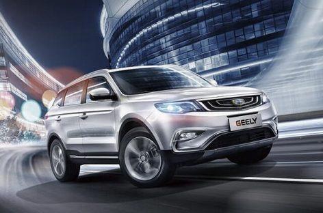 Geely Atlas стал лидером продаж среди китайских автомобилей в России