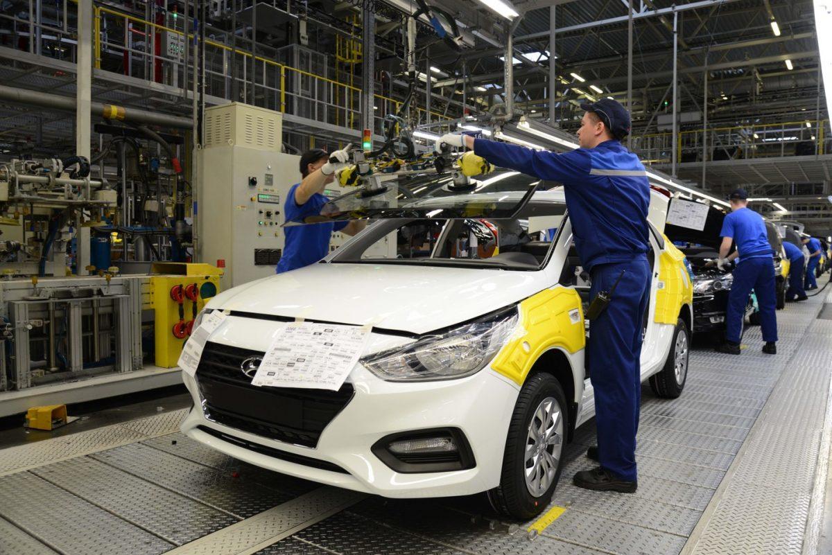 завод Hyundai в России