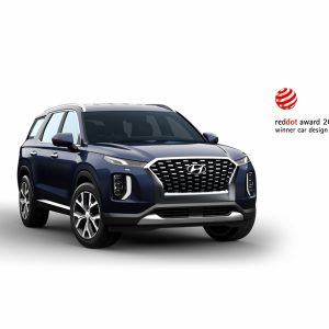 Кроссовер Hyundai Palisade получил награду за выдающийся дизайн на конкурсе Red Dot Award