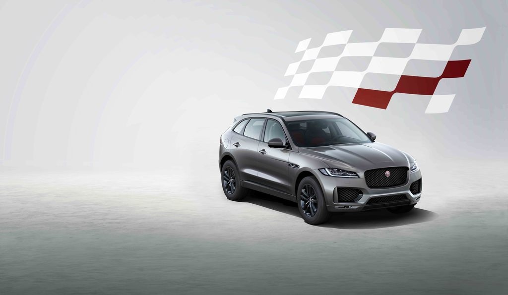 Jaguar F-PACE Chequered Flag photo