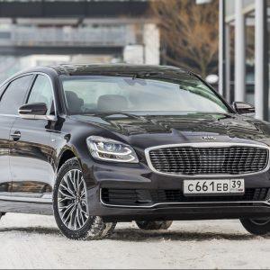 Объявлен старт продаж флагманского седана KIA К900