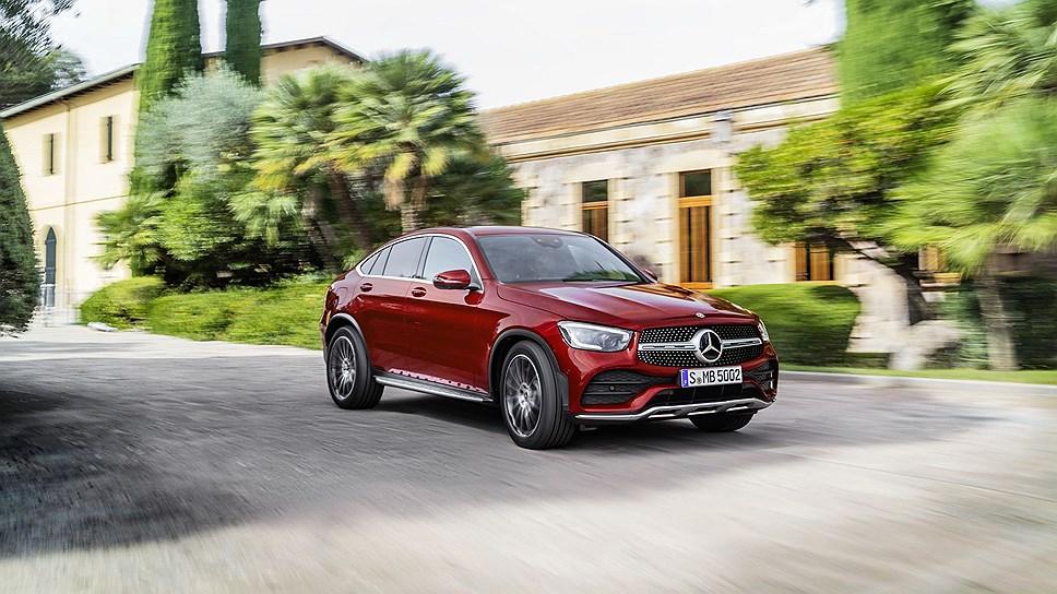 Mercedes-Benz представила кроссовер GLC Coupe main