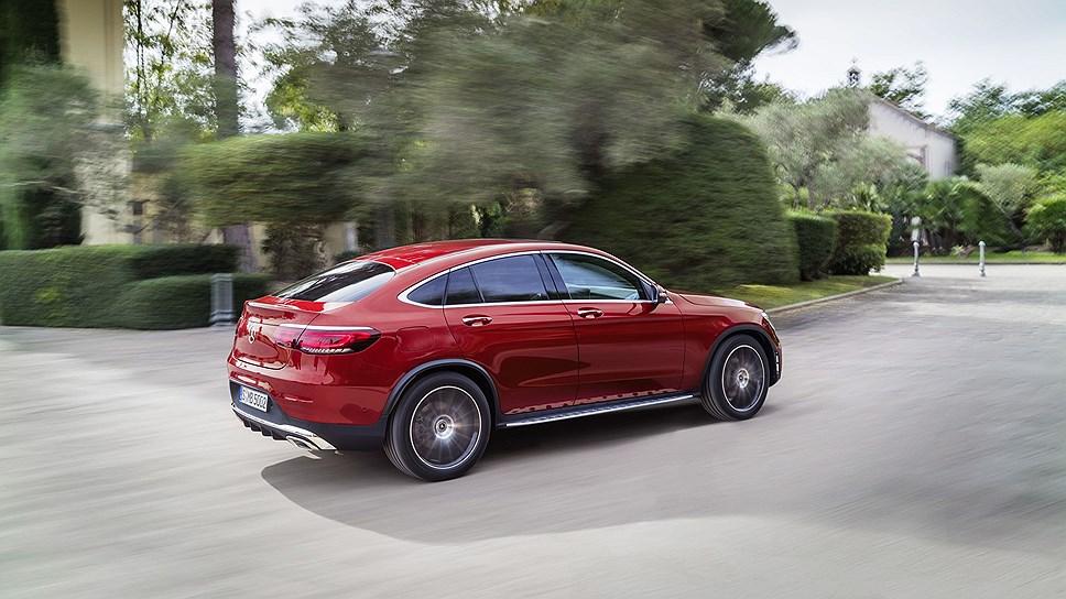 Mercedes-Benz представила кроссовер GLC Coupe alt photo
