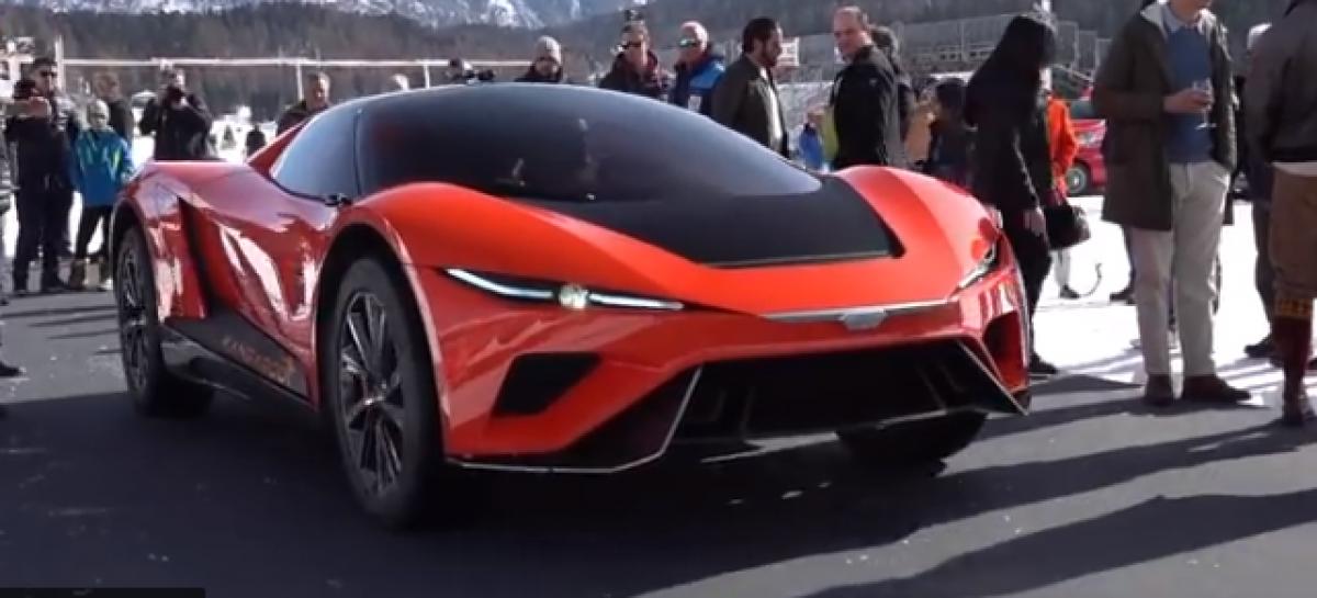 GFG Style представит новый суперкар Kangaroo