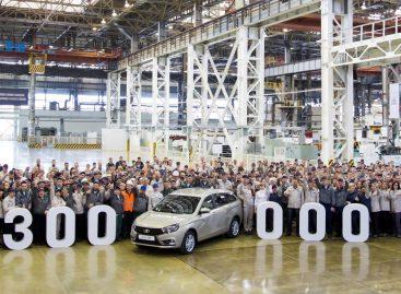 АВТОВАЗ выпустил 300 000 седанов и универсалов LADA Vesta