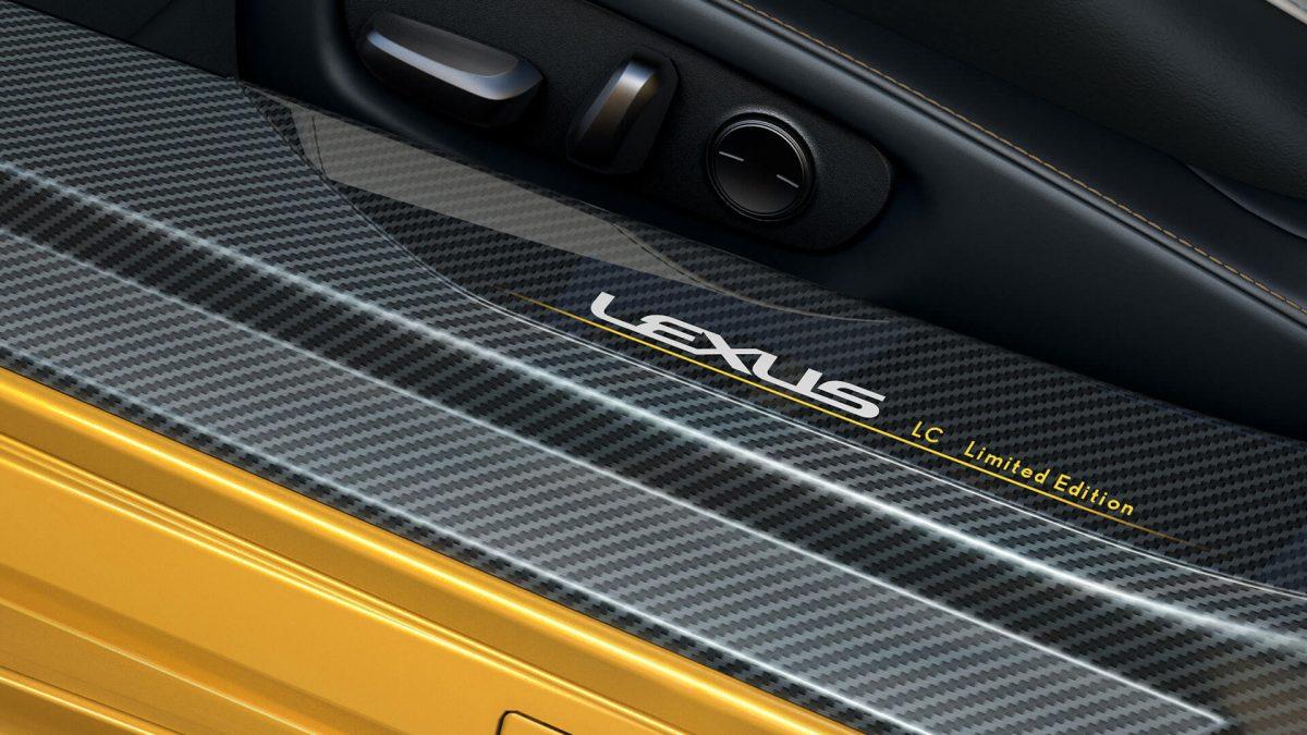 Lexus LC Yellow Edition2