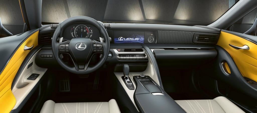 Lexus LC Yellow Edition3