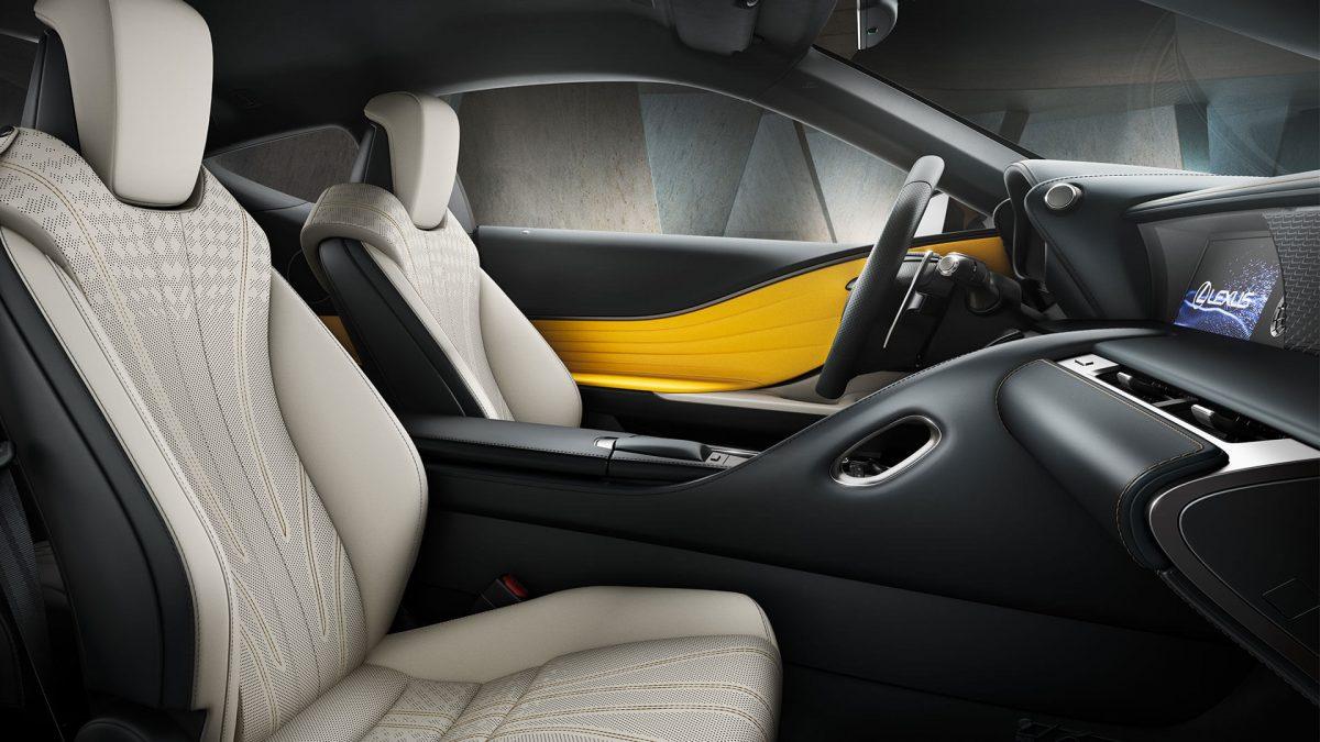 Lexus LC Yellow Edition4