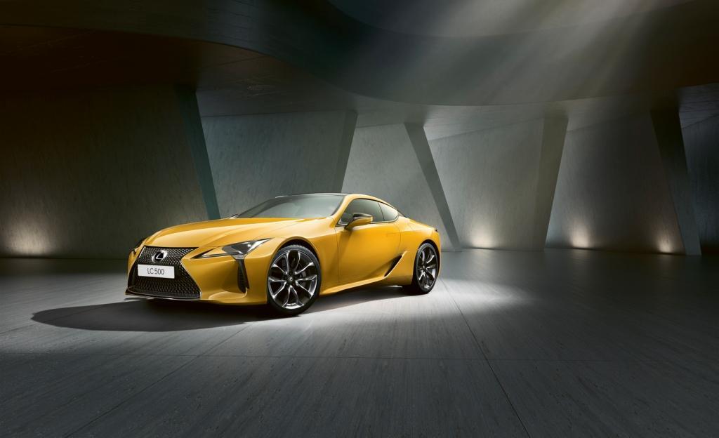 Lexus LC Yellow Edition6