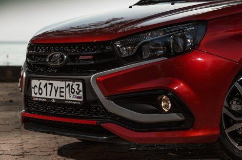 Lada за миллион: сколько Vesta Sport продано за месяц