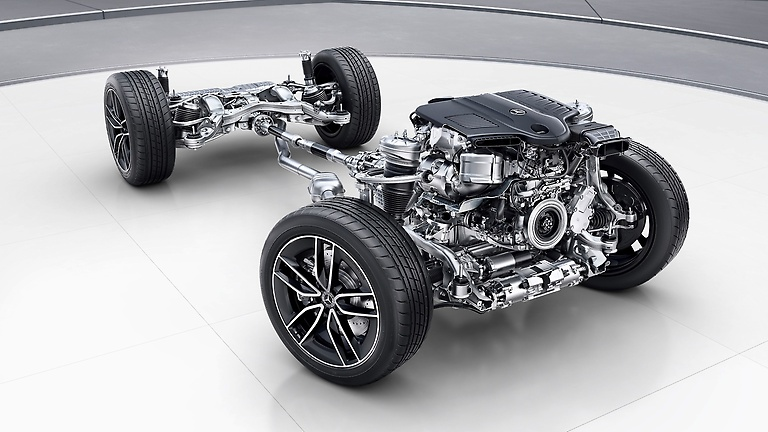 Mercedes-AMG GLE 53 4MATIC 12 подвеска
