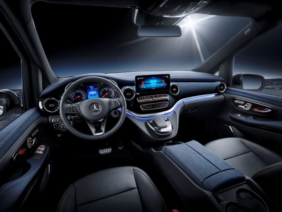 Mercedes-Benz Concept EQV _сало