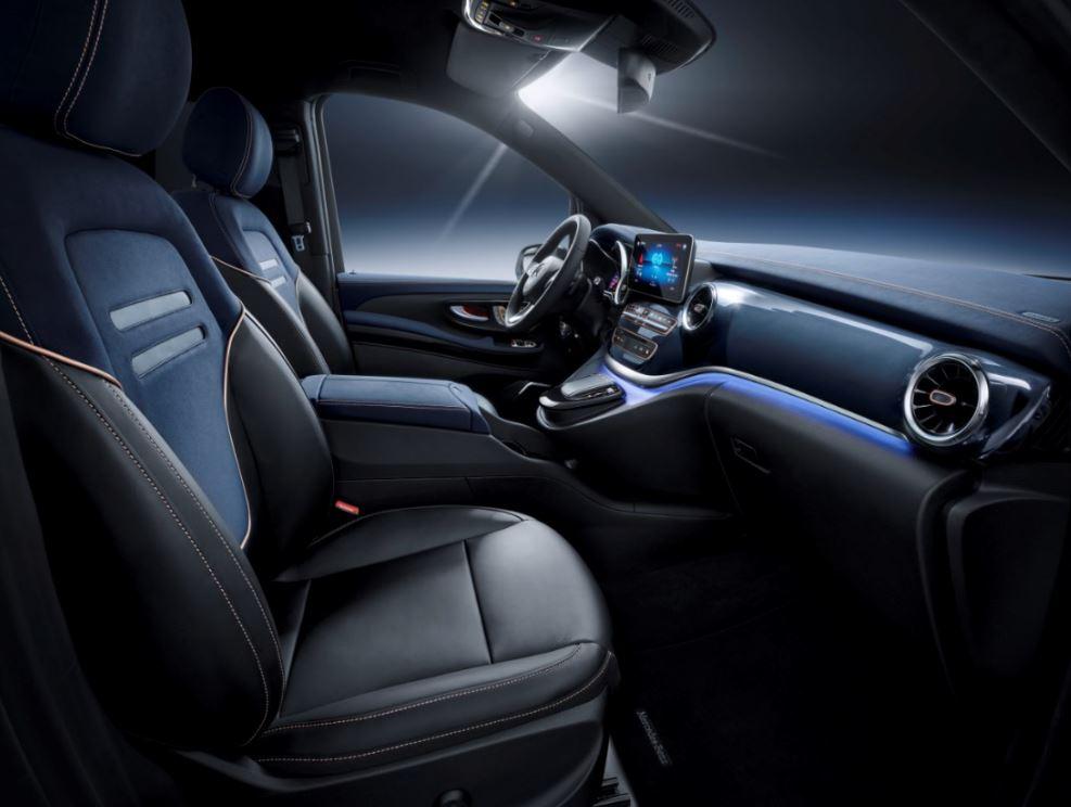 Mercedes-Benz Concept EQV _салон2
