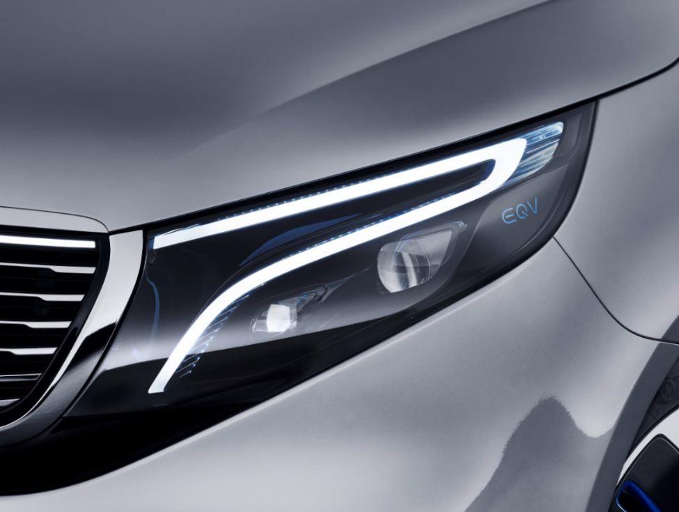 Mercedes-Benz Concept EQV фара
