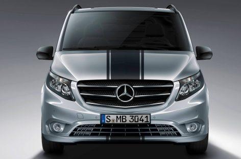 Mercedes Vito получил турбодвигатель и трансмиссию 9G-Tronic