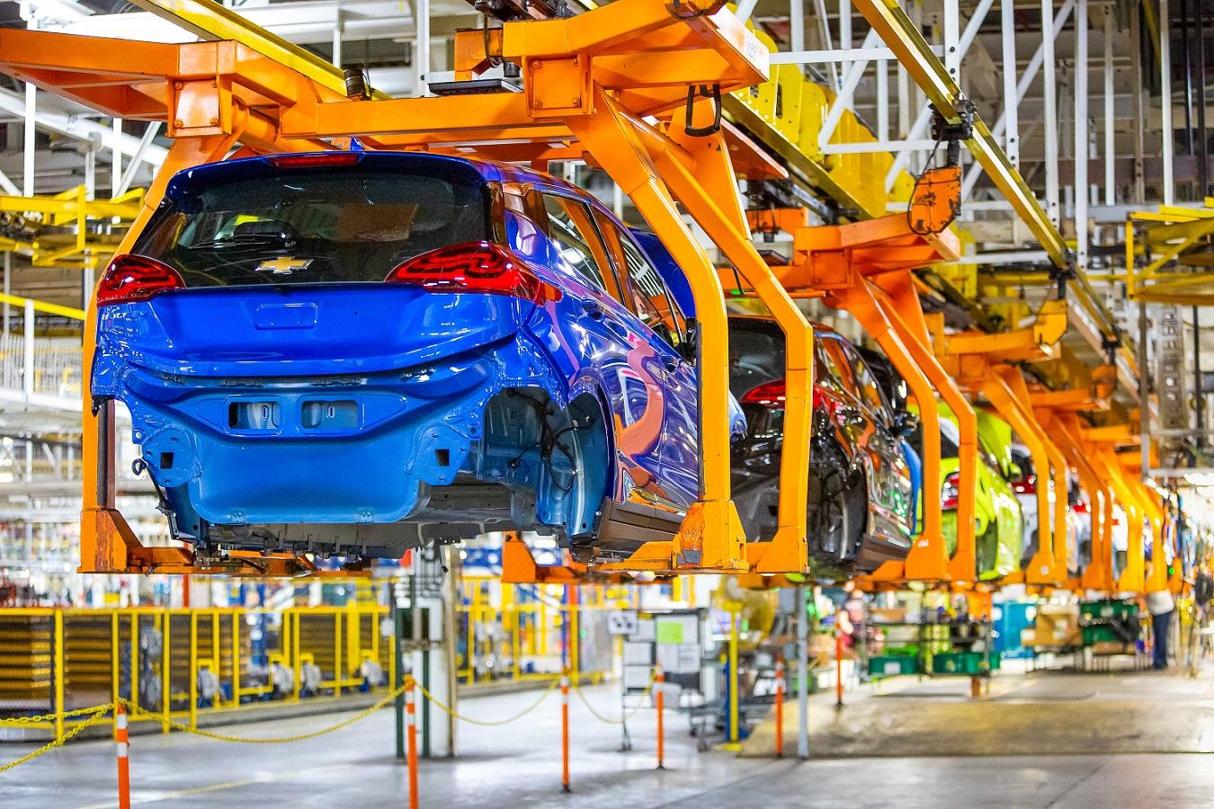 производство Chevrolet