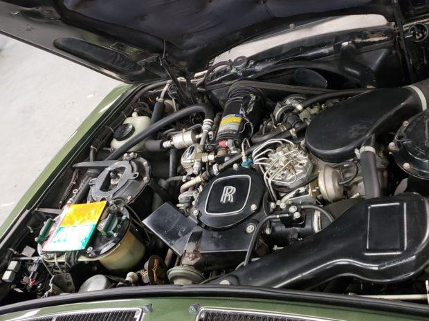 Rolls-Royce Silver Spur двигатель