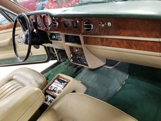 Rolls-Royce Silver Spur салон