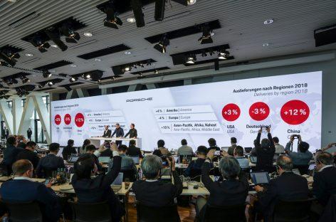 Успешный год для Porsche: поул-позиция в электромобильности