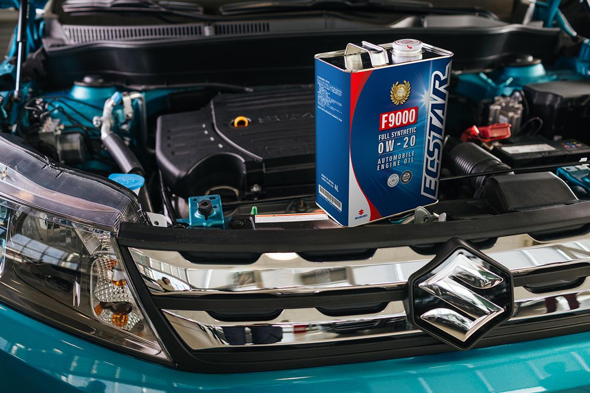 Suzuki моторное масло