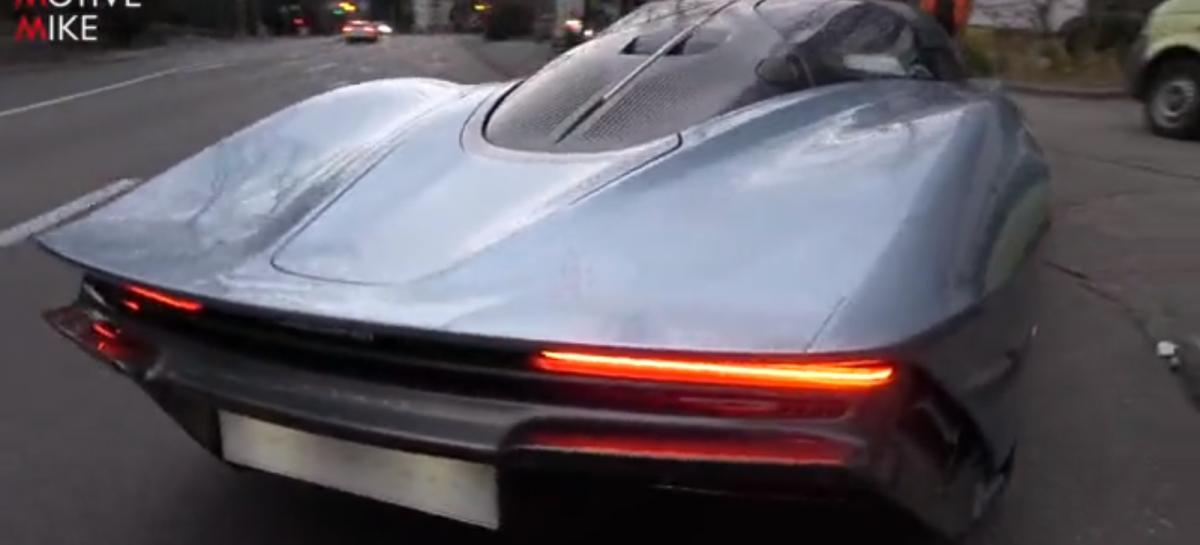 Как выглядит и звучит гиперкар McLaren Speedtail, развивающий скорость 403 км/ч