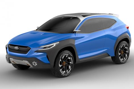 Премьера Subaru Viziv Adrenaline Concept