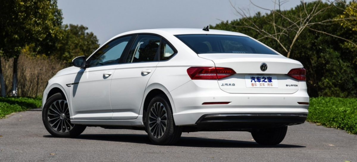 Volkswagen представил электроседан VW e-Lavida для Китая