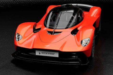 Aston Martin выпустит ограниченную серию 1 176-сильной Valkyrie Pack