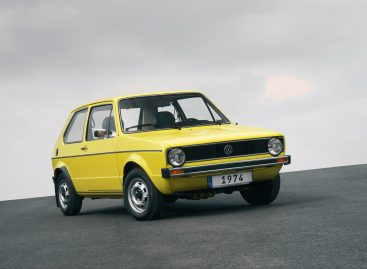 Модели Volkswagen Golf исполняется 45 лет