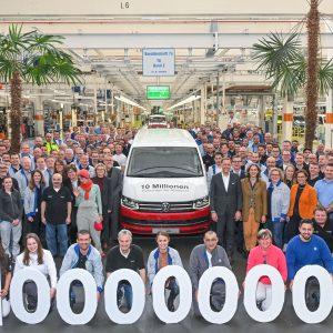 10-миллионный автомобиль Volkswagen сошел с конвейера в Ганновере