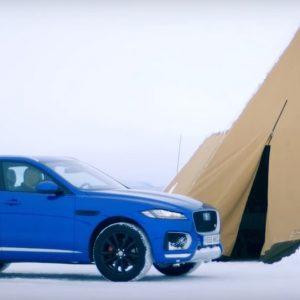 Jaguar I-Pace в фестивале «Дни Скорости на льду Байкала» 2019